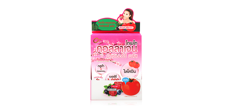 C-up Tomato Collagen Mix Berry Plus (8g x 5pcs)