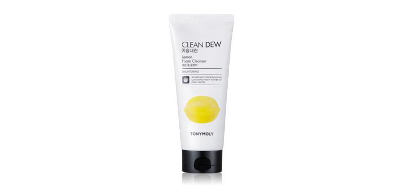 Tonymoly Clean Dew Lemon Foam Cleanser 180ml
