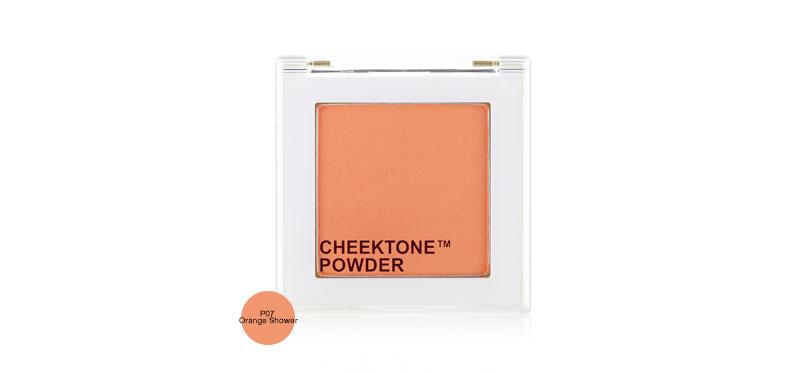 Tonymoly Cheektone Single Blusher 4.2g #P07 Orange Shower ( สินค้าหมดอายุ : 2021.11 )