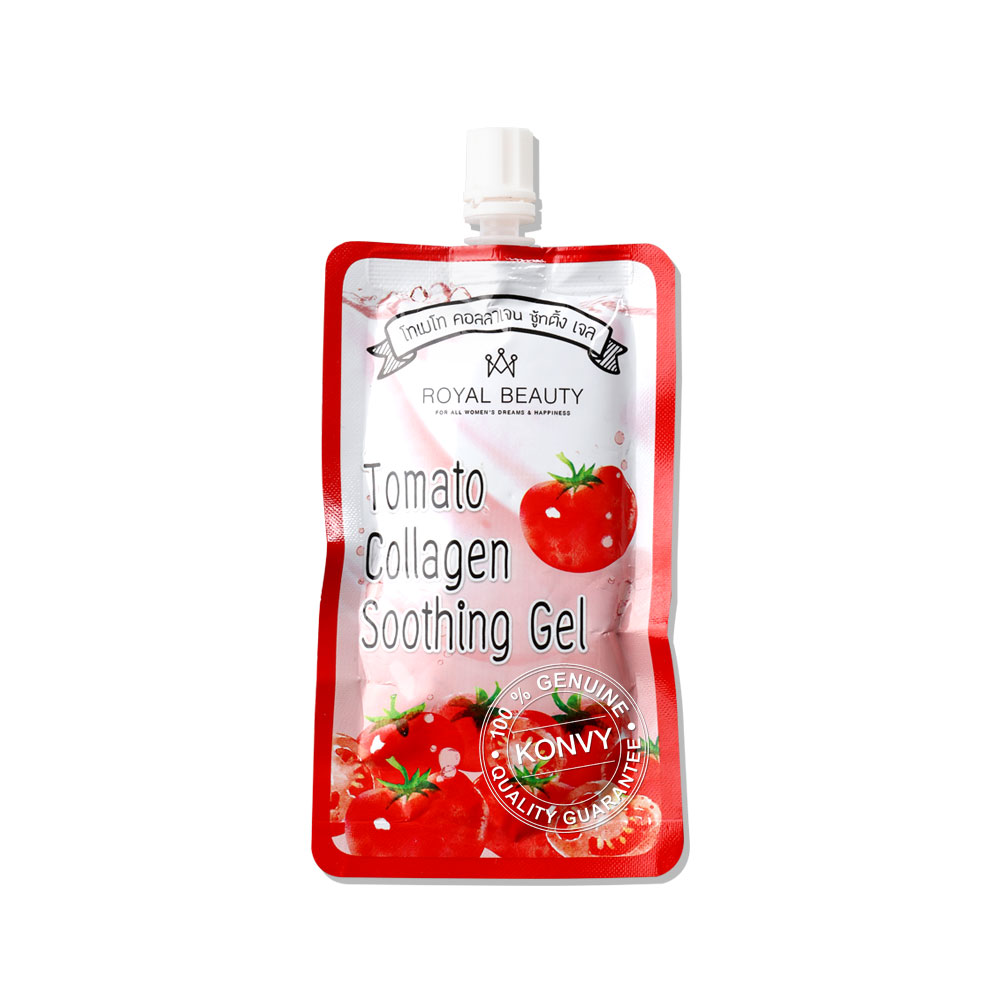 Royal Beauty Tomato Collagen Soothing Gel (40g x 4pcs)