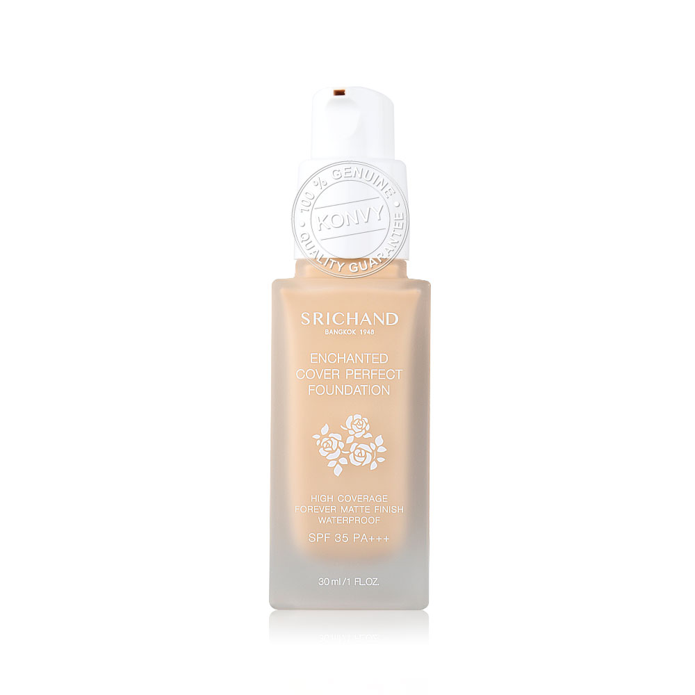 Srichand Enchanted Cover Perfect Foundation 30ml #110 Sand