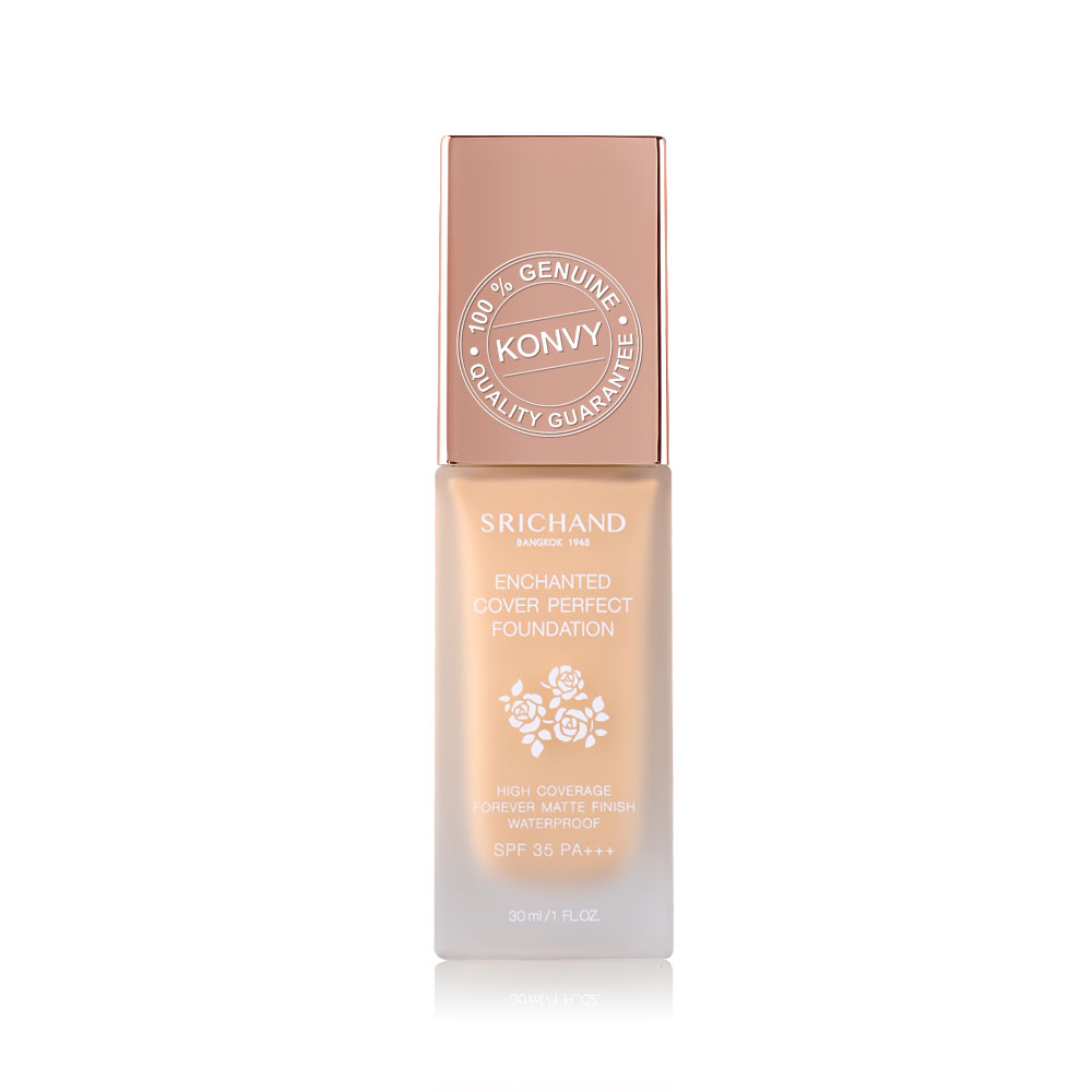 Srichand Enchanted Cover Perfect Foundation 30ml #120 Beige