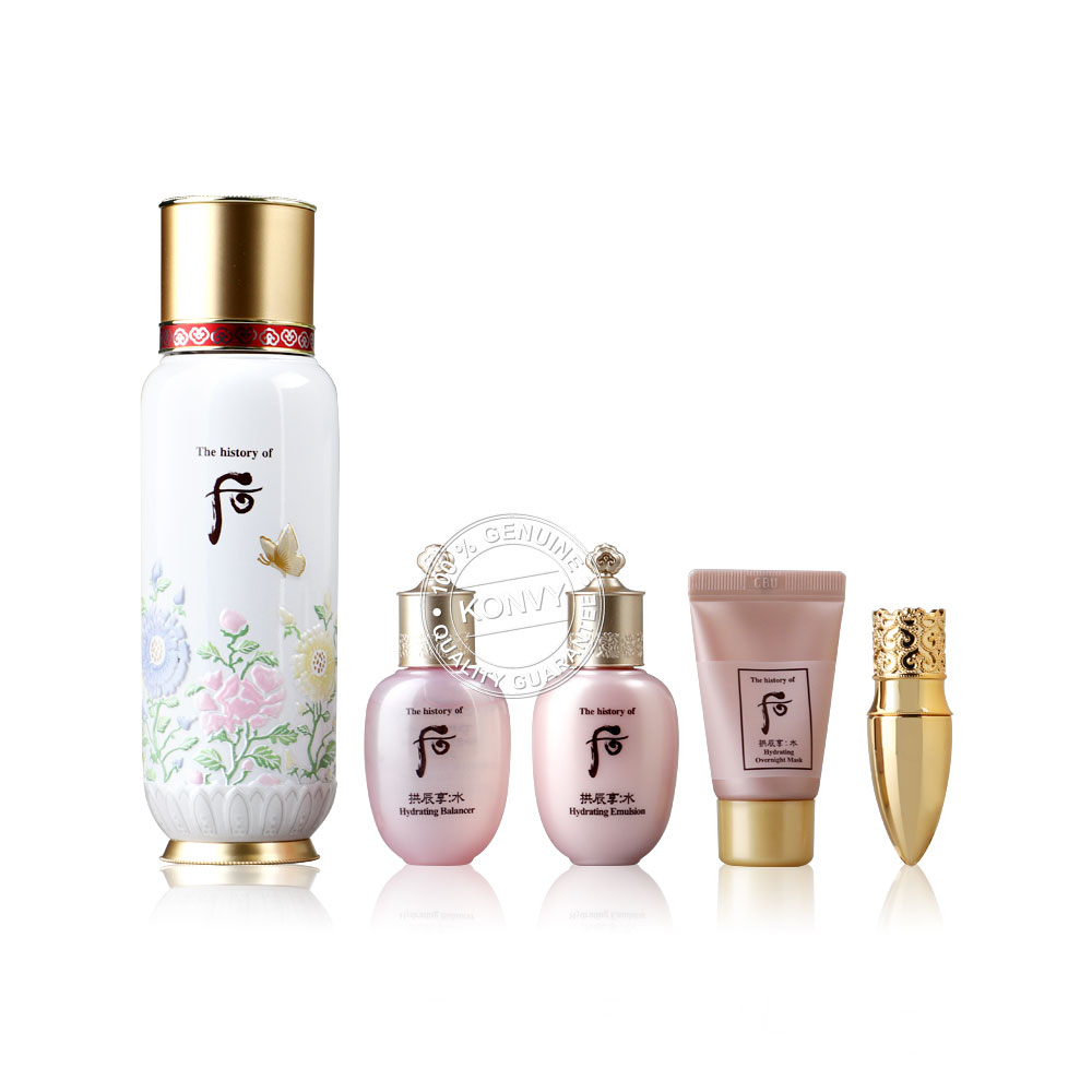 The History Of Whoo First Care Moisture Anti-Aging Essence Special Set