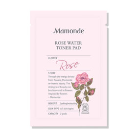 Free! Mamonde Rose Water Toner Pad + Mamonde Red Energy Recovery Serum 9ml  (1 pc / 1 order)  when shop Mamonde reach 1,000.-