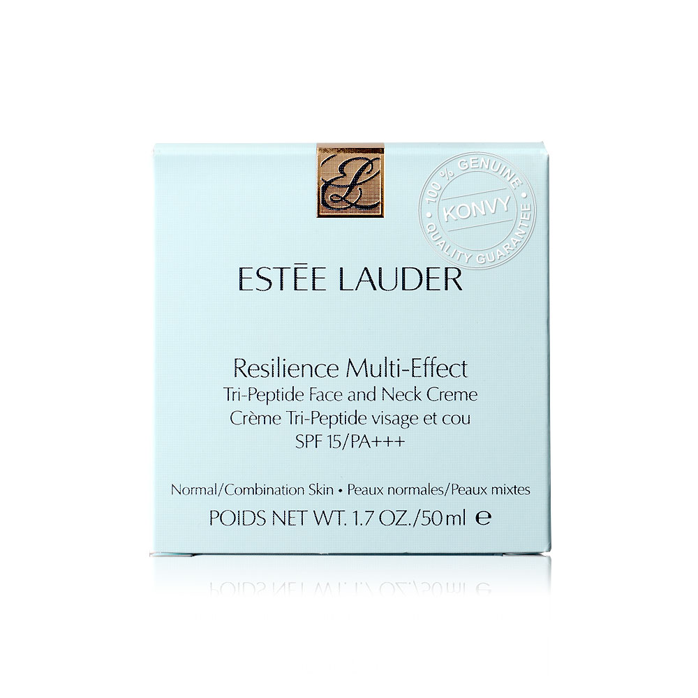 Estee Lauder Resilience Multi-Effect Tri-Peptide Face And Neck Creme SPF 15/PA+++ 50ml