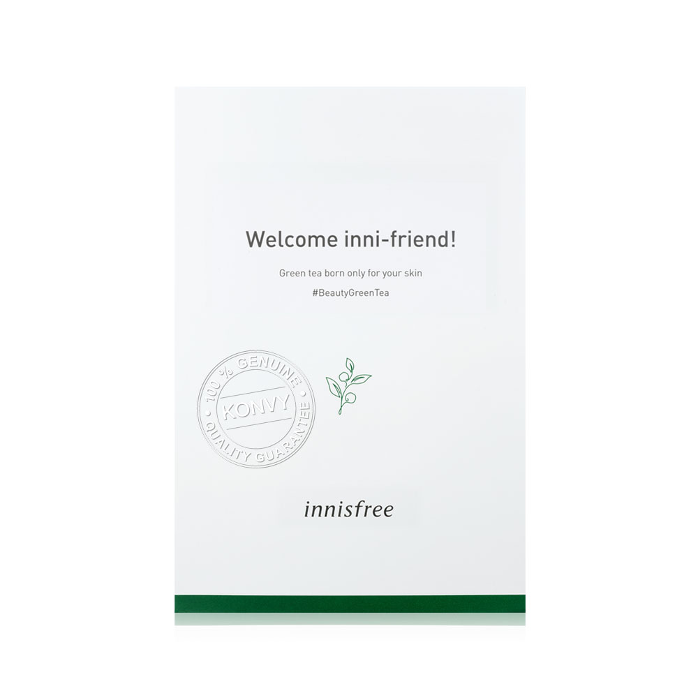 [Free Gift] Innisfree Welcome Pouch Green Tea