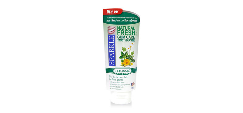 Sparkle Natural Fresh & Gum Care Toothpaste 50g (SK0382)
