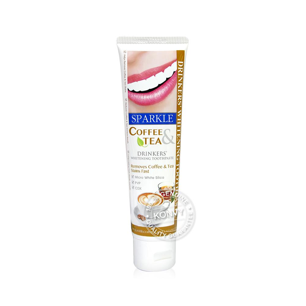 [แพ็คสี่] Sparkle Coffee&Tea Drinkers Whitening Toothpaste 90g (SK0182 x 4pcs)