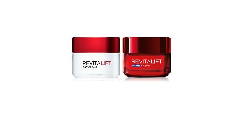 L'Oréal Paris Set 2 Items Revitalift Day Cream SPF23 50ml +  Revitalift Night Cream 50ml