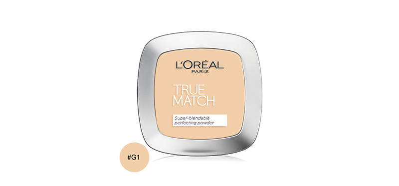 L'Oréal Paris True Match Super-Blendable Powder 9g #G1