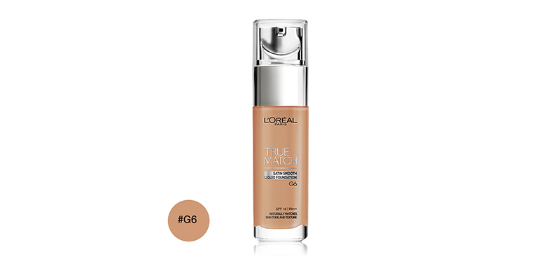 L'Oréal Paris True Match Liquid Foundation SPF16/PA++ 30ml #G6
