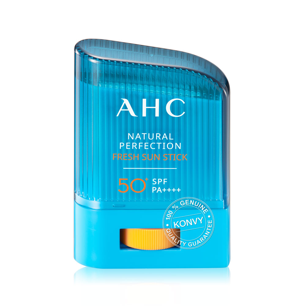 AHC Natural Perfection Fresh Sun Stick SPF50+/PA++++ 14g(Free! Hyaluronic Emulsion 30ml)