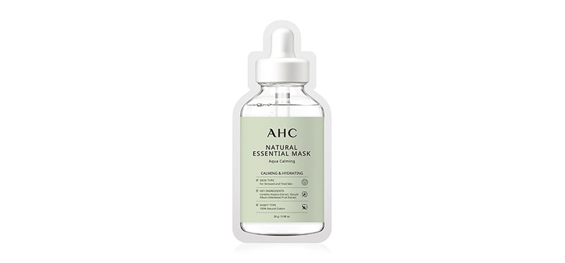 AHC Natural Essential Mask Aqua Calming 28g