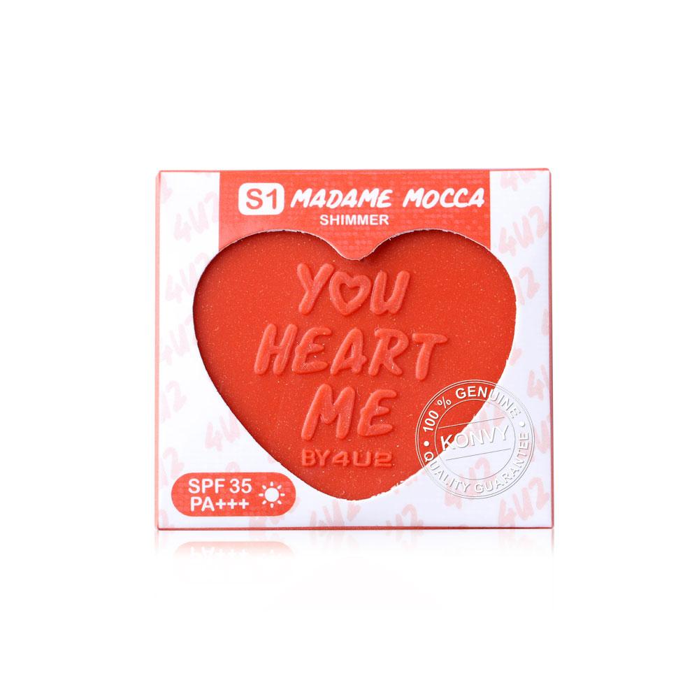 4U2 You Heart Me Blush SPF35/PA+++ 2.5g #S1 Madame Mocca