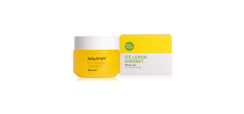 Baby Bright Ice Lemon Sherbet White Gel 50g