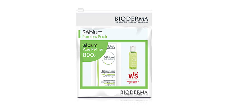 Bioderma Sebium Pore 30ml Free! Sebium Lotion 50ml