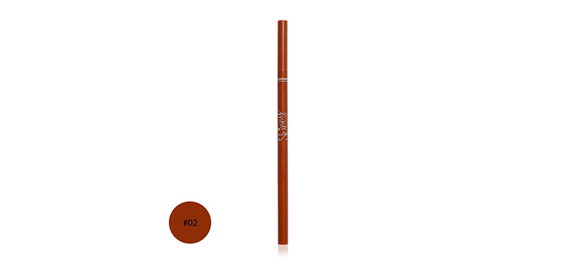 Mei Linda Skinny Brow Pencil 0.8g #02 Cinnamon Brown