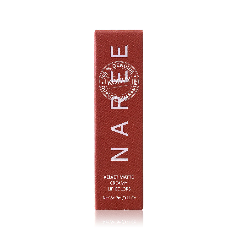Naree Velvet Matte Creamy Lip Colors 3ml #804 Girlfriend