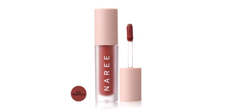 Naree Velvet Matte Creamy Lip Colors 3ml #805 Appealing
