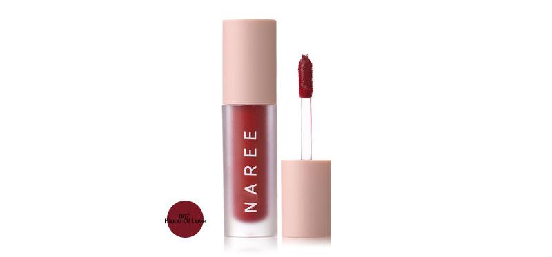 Naree Velvet Matte Creamy Lip Colors 3ml #807 Blood Of Love