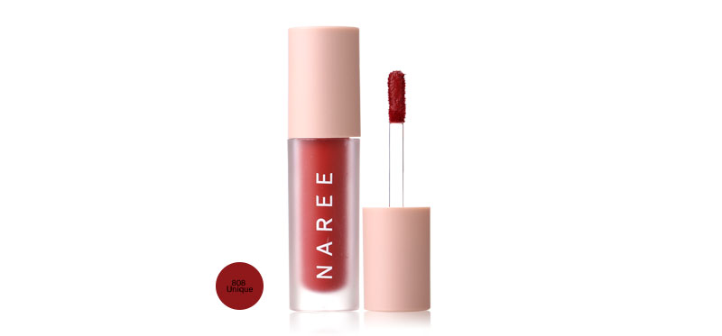Naree Velvet Matte Creamy Lip Colors 3ml #808 Unique