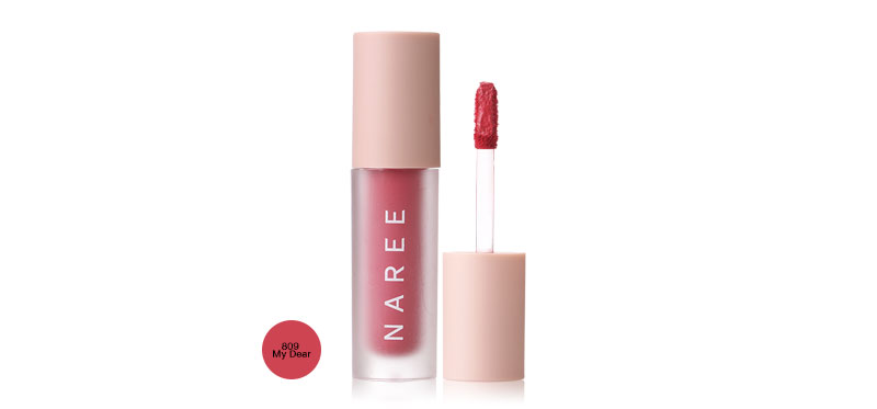Naree Velvet Matte Creamy Lip Colors 3ml #809 My Dear