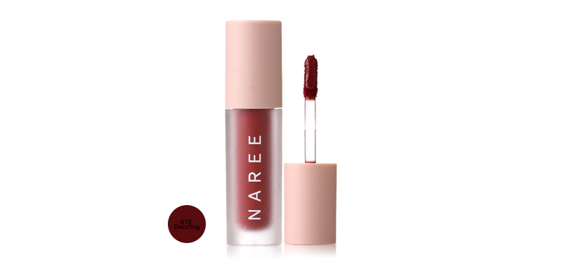 Naree Velvet Matte Creamy Lip Colors 3ml #810 Dazzling