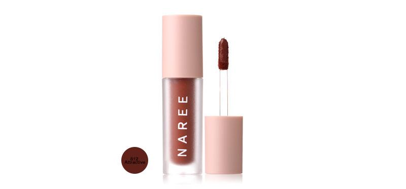 Naree Velvet Matte Creamy Lip Colors 3ml #812 Attractive