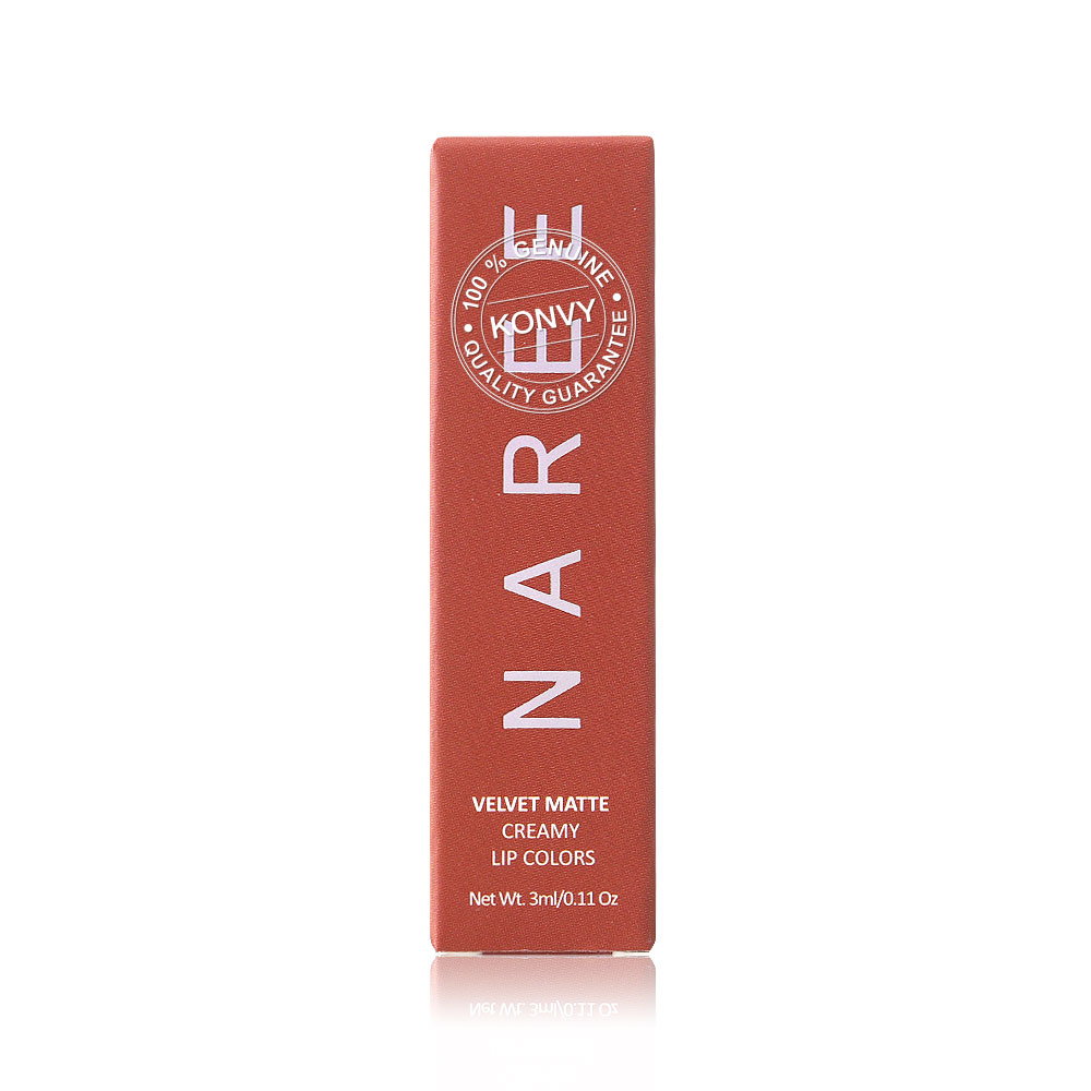 Naree Velvet Matte Creamy Lip Colors 3ml #813 Captivate