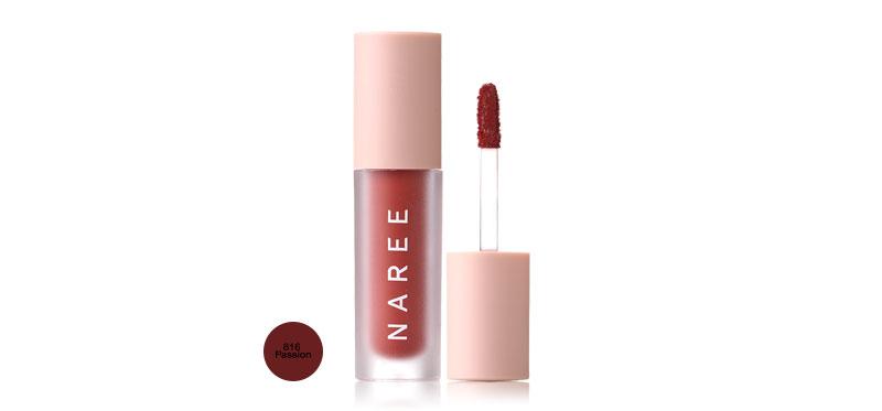 Naree Velvet Matte Creamy Lip Colors 3ml #816 Passion