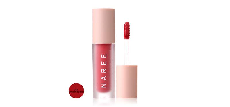 Naree Velvet Matte Creamy Lip Colors 3ml #817 Sweet Talker