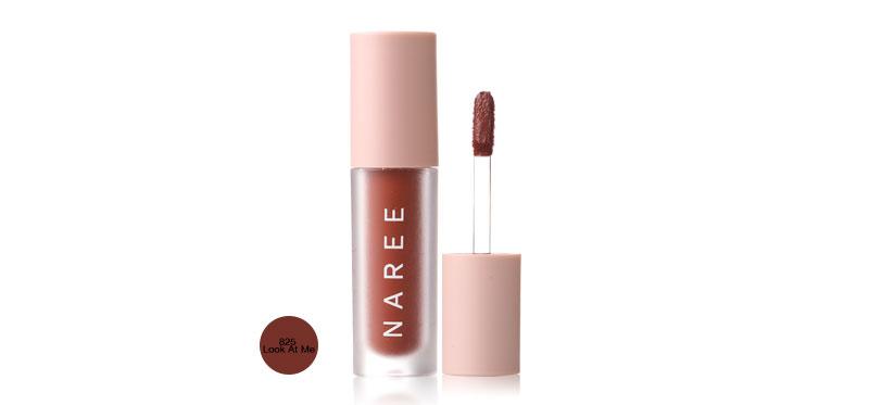 Naree Velvet Matte Creamy Lip Colors 3ml #825 Look At Me