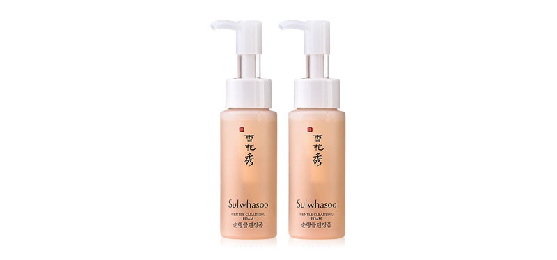 แพ็คคู่ Sulwhasoo Gentle Cleansing Foam (50ml×2)