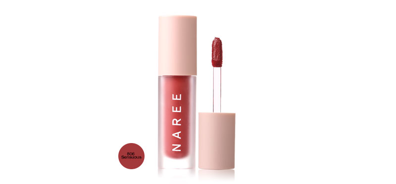 Naree Velvet Matte Creamy Lip Colors 3ml #806 Sensuous