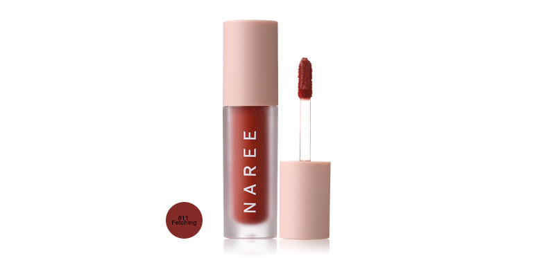 Naree Velvet Matte Creamy Lip Colors 3ml #811 Fetching