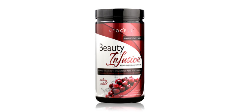 Neocell Beauty Infusion Refreshing Collagen Drink Mix Cranberry Cocktail 330g
