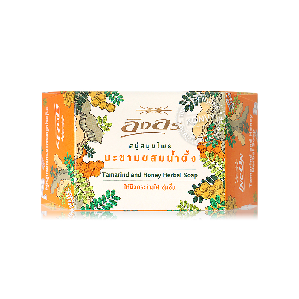 Ing On Tamaride and Honey Herbal Soap 85g