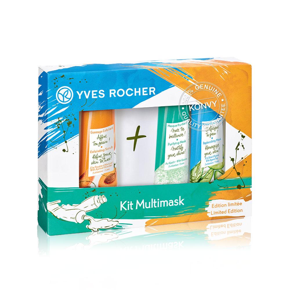 Yves Rocher Set 3 Items Multimasking Kit