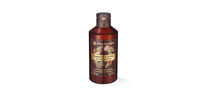 Yves Rocher Argan Rose Shower Gel 200ml