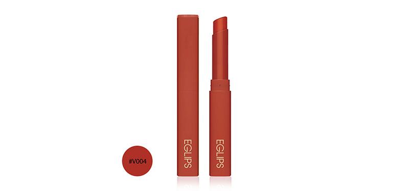 Eglips Muse In Velvet Lipstick 1.8g #V004 Over Chili