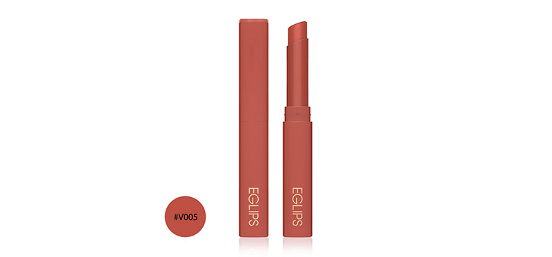 Eglips Muse In Velvet Lipstick 1.8g #V005 Ginger Mellow