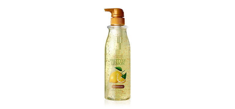 Mistine Natural Beauty Pretty Of Lemon Shower Gel 515ml