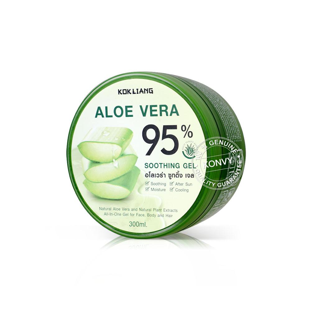 Kokliang Aloe Vera Soothing Gel 95% 300ml