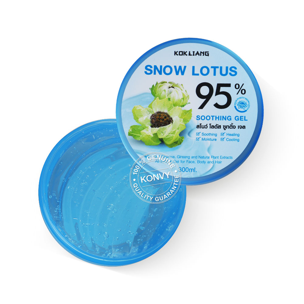 Kokliang Snow Lotus Soothing Gel 95% 300ml