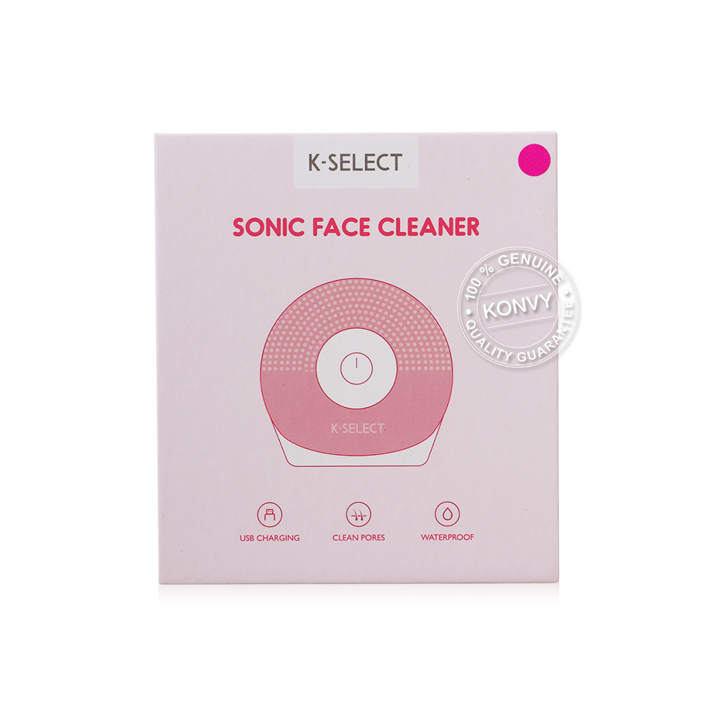 K-Select Sonic Face Cleaner #Rose Pink