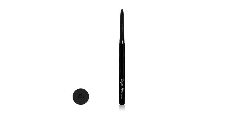 Mei Linda Super Fine Eyeliner 0.36g #01 Black