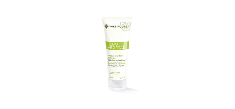 Yves Rocher Sebo Vegetal V2 Purifying Clay Mask 75ml