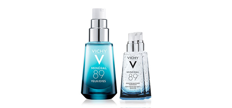 [ซื้อ1แถม2] Vichy Mineral 89 Eyes 15ml Free! Mineral 89 (1.5ml x 2pcs)