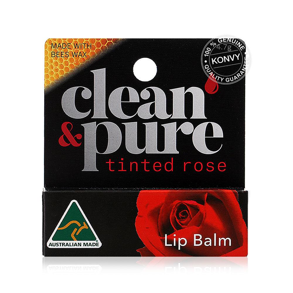 Clean&Pure Tinted Rose Lip balm 4.7g