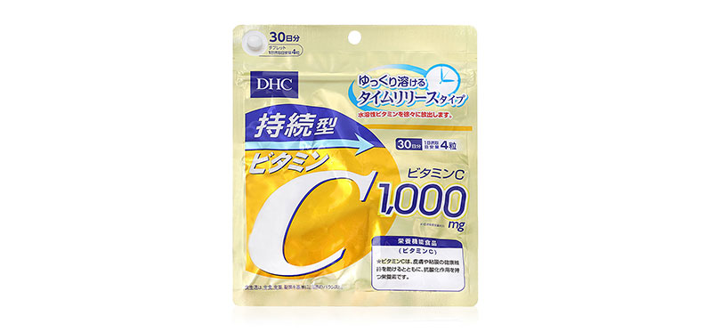 DHC-Supplement Vitamin C Sustainable 1000mg 30 Day